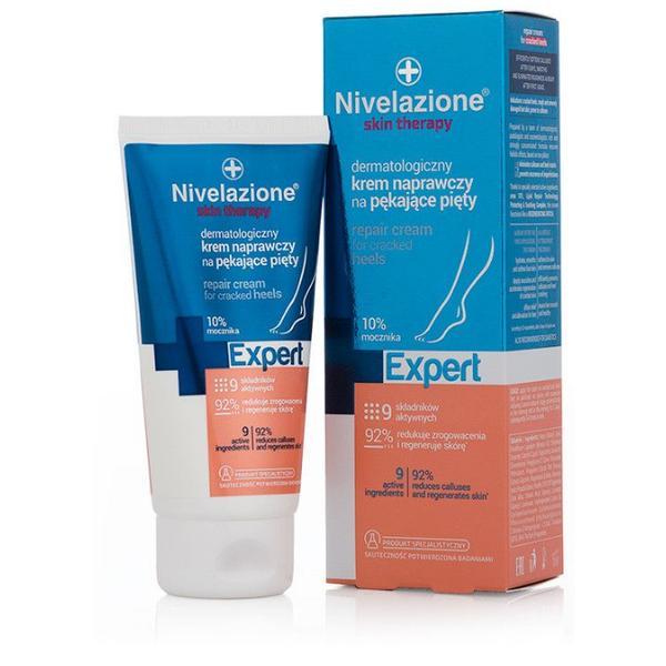 Crema Dermatologica Reparatoare pentru Calcaie Crapate - Farmona Nivelazione Skin Therapy Expert Repair Cream for Cracked Heels, 75ml imagine produs