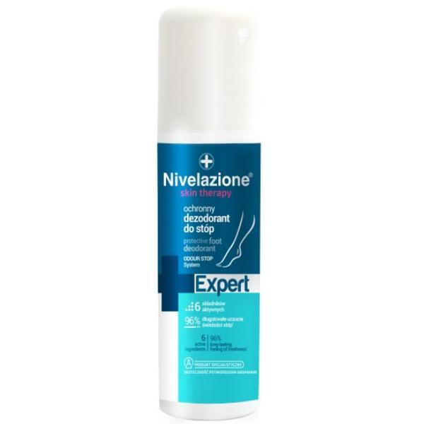 Deodorant Protector pentru Picioare - Farmona Nivelazione Skin Therapy Expert Protective Foot Deodorant, 125ml imagine produs