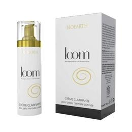 Crema depigmentare pete cu melc, ten normal si mixt - Loom Bioearth, 30 ml