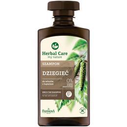 Sampon Antimatreata cu Gudron de Mesteacan – Farmona Herbal Care Birch Tar Shampoo for Hair with Dandruff, 330ml de la esteto.ro