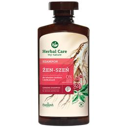 Sampon cu Extract de Ginseng pentru Par Fin si Subtire - Farmona Herbal Care Ginseng Shampoo for Delicate and Thin Hair, 330ml