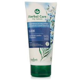Balsam cu Extract de In pentru Par Uscat si Fragil - Farmona Herbal Care Flax Conditioner for Dry and Brittle Hair, 200ml