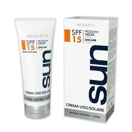 Crema protectie solara SPF 15 ten Bioearth, 50 ml