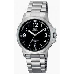 Ceas barbatesc Q&Q Casual Black & Silver - Q714J205Y