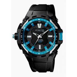 Ceas barbatesc Q&Q Attractive Turquoise - DA70J001Y