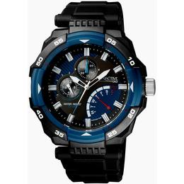 Ceas barbatesc Q&Q Attractive Black & Blue - DA84J003Y