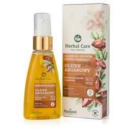 Ulei Nutritiv cu Argan pentru Par, Piele si Unghii - Farmona Herbal Care Argan Nourishing Oil, 55ml