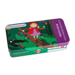 Puzzle Scufita Rosie - Fairy Tale Jigsaw Puzzle - Little Red Riding hood
