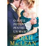 O sotie potrivita pentru un marchiz - Sarah MacLean, editura Litera