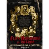 Elita Basarabiei la 1917-1918. Zece personalitati care au facut unirea - Andrei Popescu, editura Minerva