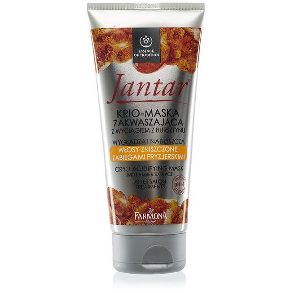Crio-Masca Acidifianta cu Extract de Chihlimbar - Farmona Jantar Cryo Acidifying Mask with Amber Extract, 200ml imagine produs