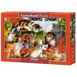 Puzzle 1500. Kittens Play Time