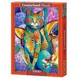 Puzzle 1500. Feline Fiesta