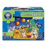 Puzzle Spatiul cosmic - Who's in space