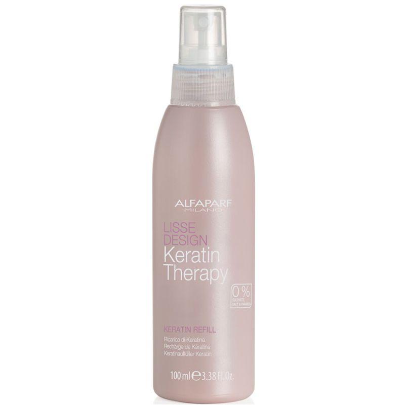 Lapte de Par cu Cheratina - Alfaparf Milano Lisse Design Keratin Therapy Keratin Milk 100 ml imagine produs