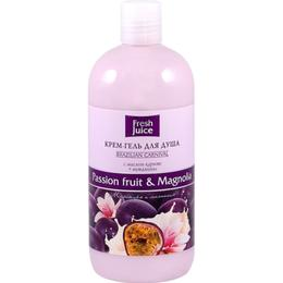 Gel de Dus Cremos cu Extracte de Fructul Pasiunii si Magnolie Fresh Juice, 500ml