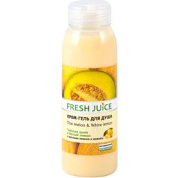 Gel de Dus Cremos cu Extract de Pepene Galben si Ulei de Lamaie Fresh Juice, 300ml