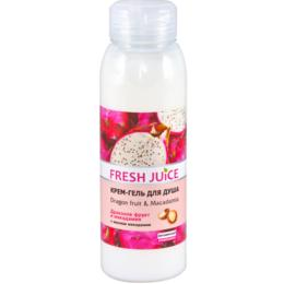 Gel de Dus Cremos cu Extract de Pitaya si Ulei de Macadamia Fresh Juice, 300ml