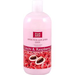 Gel de Dus Cremos cu Extracte de Litchi si Zmeura Fresh Juice, 500ml