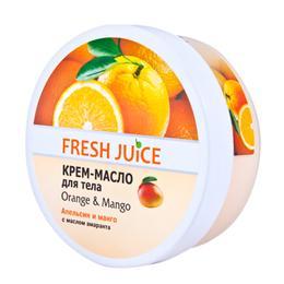 Crema-Unt de Corp Portocale si Mango Fresh Juice, 225ml