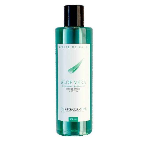 Ulei de baie fără parabeni Laboratorio SyS - Aloe vera 250 ml imagine produs
