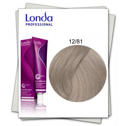 Vopsea Permanenta - Londa Professional nuanta 12/81 blond special perlat cenusiu