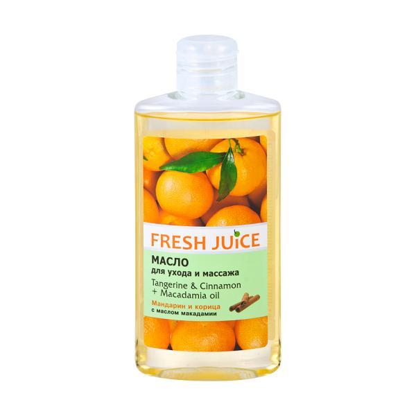 Ulei de Corp cu Mandarina, Scortisoara si Ulei de Macadamia Fresh Juice, 150ml imagine produs