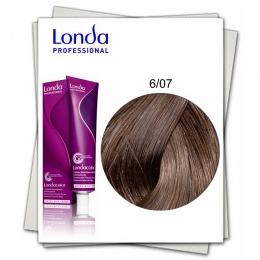 Vopsea Permanenta - Londa Professional nuanta 6/07 blond inchis natural castaniu