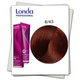 Vopsea Permanenta - Londa Professional nuanta 6/43 blond inchis cupru auriu