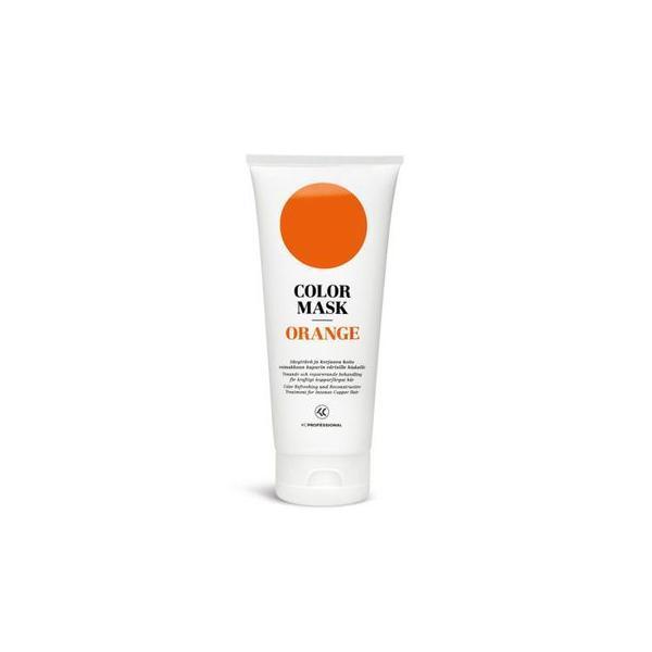 Masca pentru par vopsit - KC Professional Color Mask Orange, 200 ml