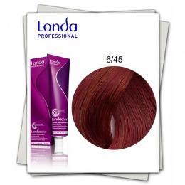 Vopsea Permanenta - Londa Professional nuanta 6/45 blond inchis cupru rosu