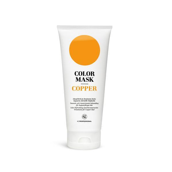 Masca pentru par vopsit - KC Professional Color Mask Copper, 200 ml