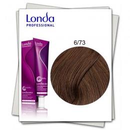 Vopsea Permanenta - Londa Professional nuanta 6/73 blond inchis maro auriu
