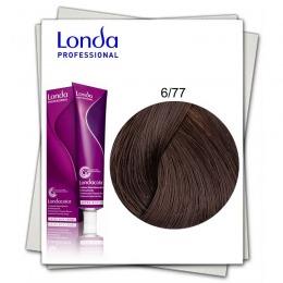 Vopsea Permanenta - Londa Professional nuanta 6/77 blond inchis maro intens