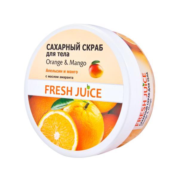 Exfoliant de Corp Portocala si Mango Fresh Juice, 225ml imagine produs