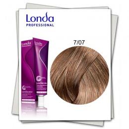 Vopsea Permanenta - Londa Professional nuanta 7/07 blond mediu natural castaniu