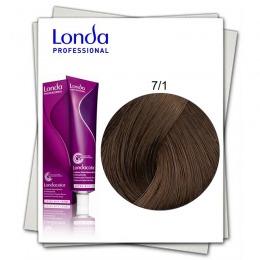 Vopsea Permanenta - Londa Professional nuanta 7/1 blond mediu natural
