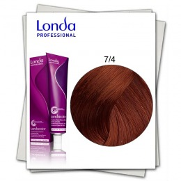Vopsea Permanenta - Londa Professional nuanta 7/4 blond mediu aramiu