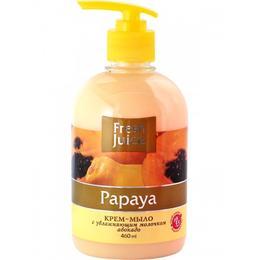 Sapun Lichid Cremos cu Ulei de Avocado si Extract de Papaya Fresh Juice, 460ml