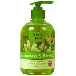Sapun Lichid Cremos cu Ulei de Lemongrass si Extract de Bambus Fresh Juice, 460ml