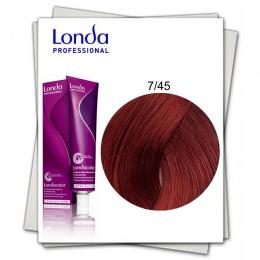 Vopsea Permanenta - Londa Professional nuanta 7/45 blond mediu cupru rosu