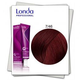 Vopsea Permanenta - Londa Professional nuanta 7/46 blond mediu cupru violet