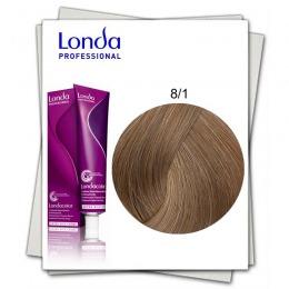 Vopsea Permanenta - Londa Professional nuanta 8/1 blond deschis cenusiu