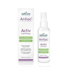 Spray Antiac, fata si corp, pentru curatarea pielii congestionate cu acnee, Omega, vitamina A, E, Salcura 100 ml
