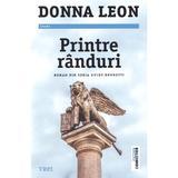 Printre randuri - Donna Leon, editura Trei