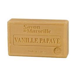Sapun Natural de Marsilia 100g Vanilie Papaya Le Chatelard 1802