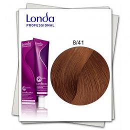 Vopsea Permanenta - Londa Professional nuanta 8/41 blond deschis cupru cenusiu