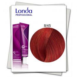 Vopsea Permanenta - Londa Professional nuanta 8/45 blond deschis cupru rosu