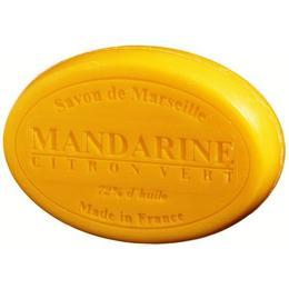 Sapun Natural de Marsilia 100g Mandarine Citron Vert Lamaie Verde Le Chatelard 1802 Oval