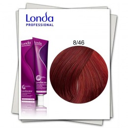 Vopsea Permanenta - Londa Professional nuanta 8/46 blond deschis cupru violet